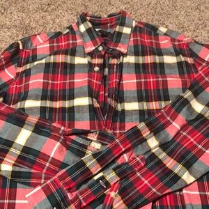 Jcrew oxford plaid button down